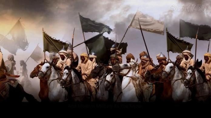Zwarte vlaggen uit Khorasan